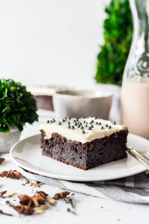 Chocolate Irish Cream Cake