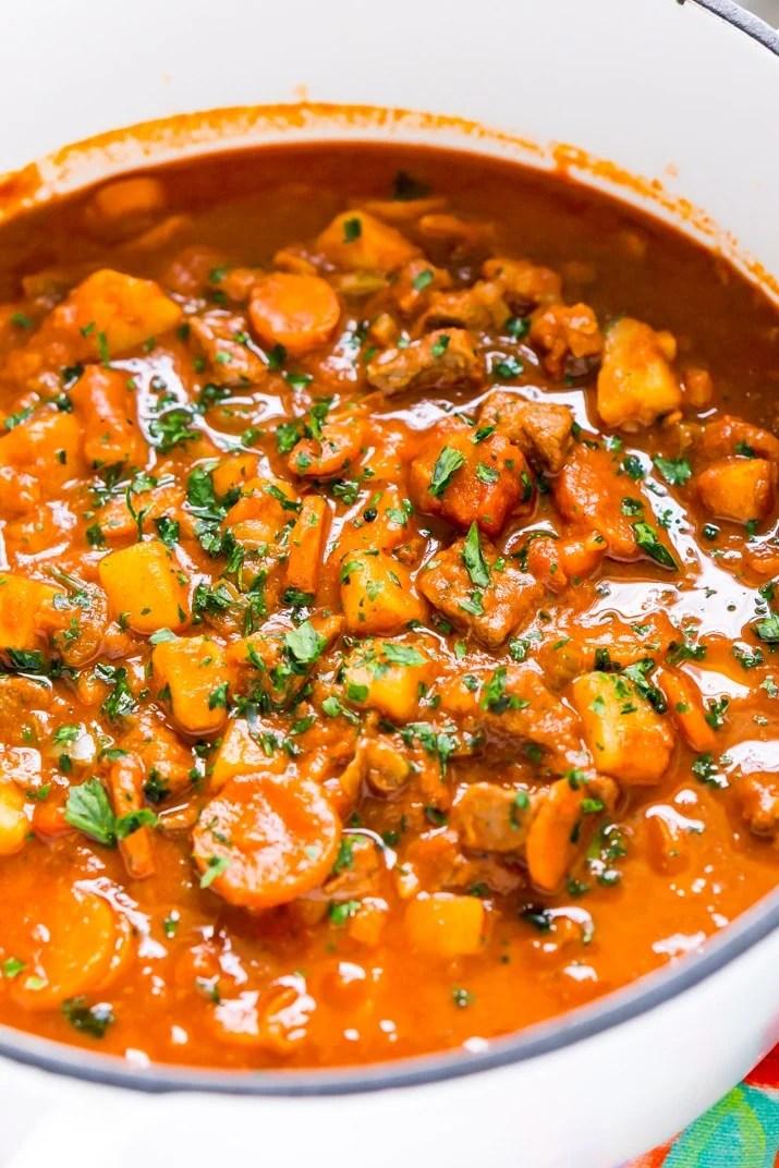One Pot Hungarian Goulash Recipe