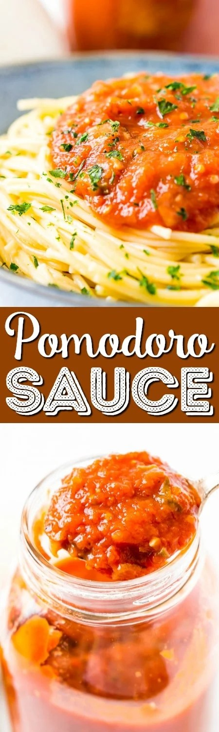 Super Easy Pomodoro Sauce Recipe | Sugar & Soul