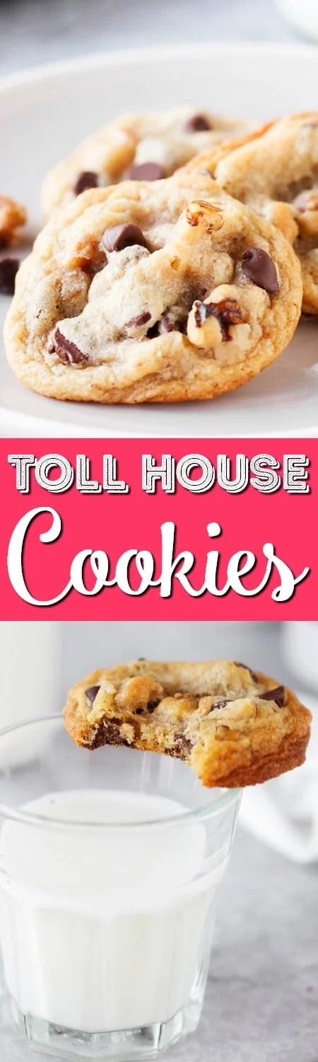 The original Toll House Cookie Recipe is an American favorite made with crunchy walnuts and decadent semi-sweet chocolate chips. It's a classic dessert recipe the whole family will love!