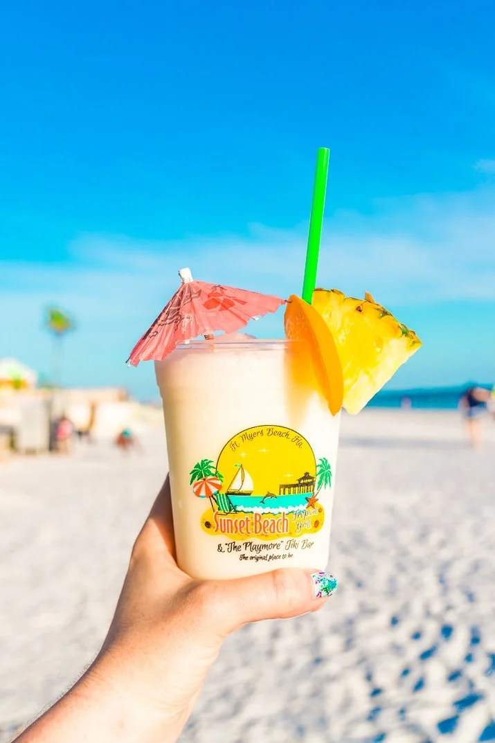 Heading to Fort Myers Beach, Florida and looking for the best places to eat? Here's a list of my 12 favorite cafes and restaurants in the area!