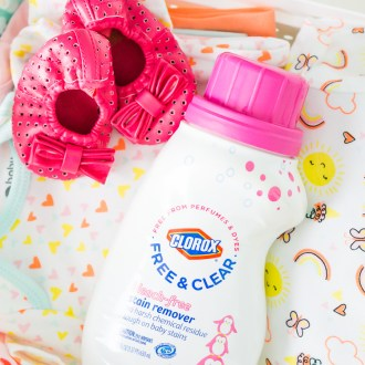 How To Prep Your Nursery for Baby with Clorox Free & Clear