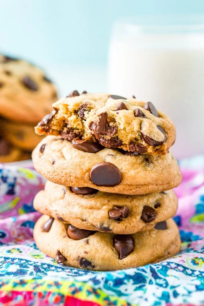 These Coconut Oil Chocolate Chip Cookies are everything you love about the classic cookie but they're dairy free!