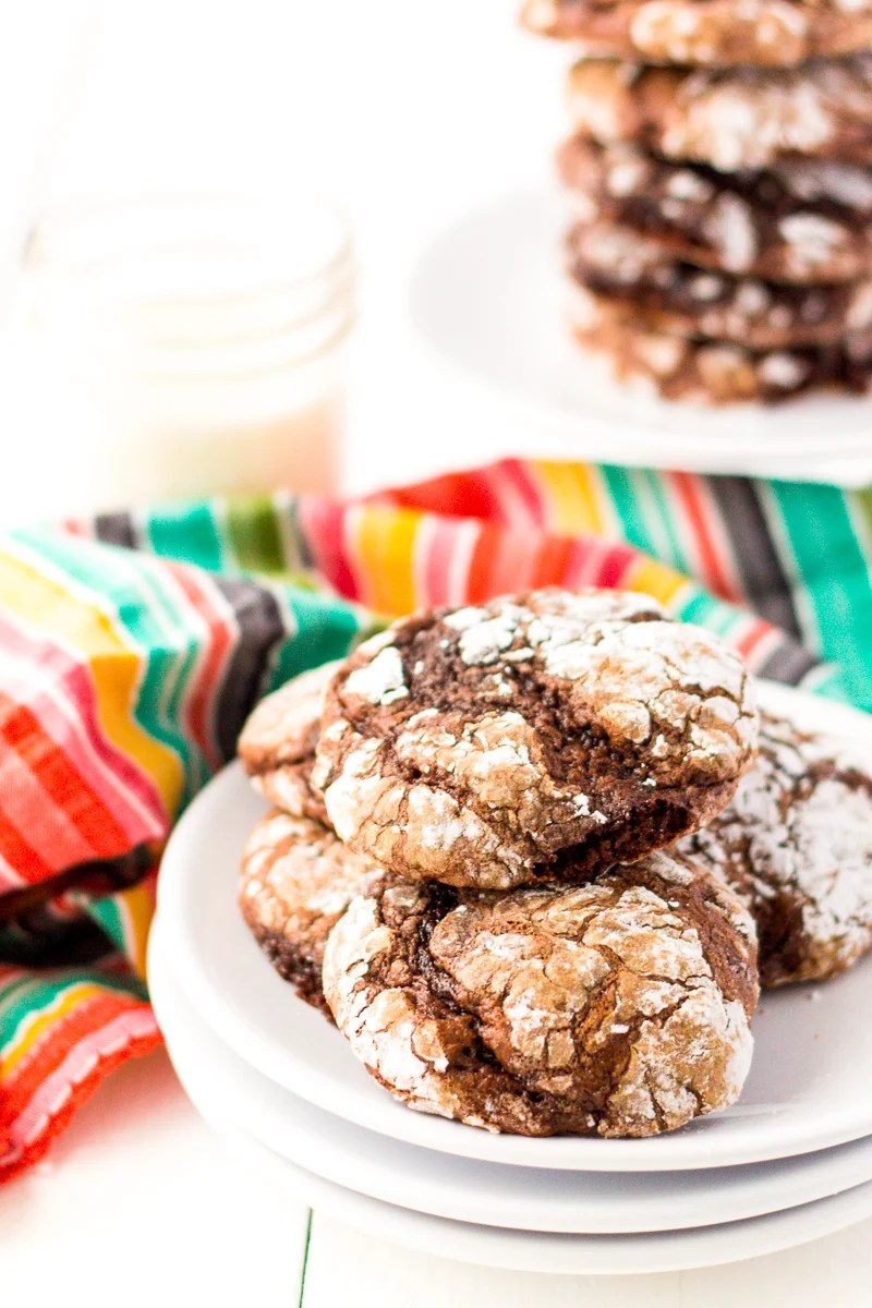 These Chocolate Cool Whip Cookies are a fun, easy, and quick dessert recipemade with just 4-ingredients!