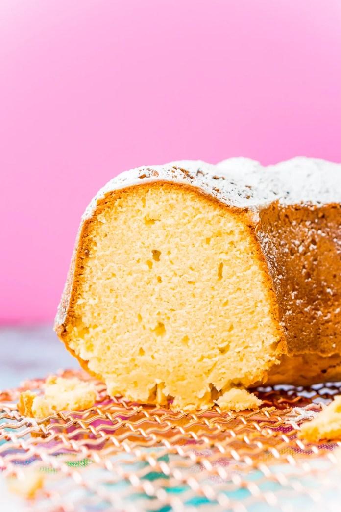 Cream Cheese Pound Cake Recipe Sugar Soul