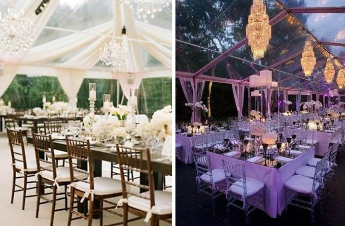 Sugar And Spice Events Clear Marquees