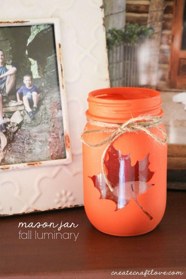 Mason Jar Diy Craft Ideas Decor Projects For The Fall