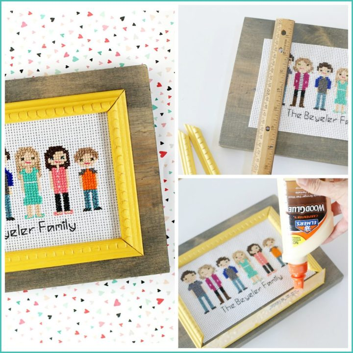 How To Make A Cross Stitch Photo Frame Pixels1st