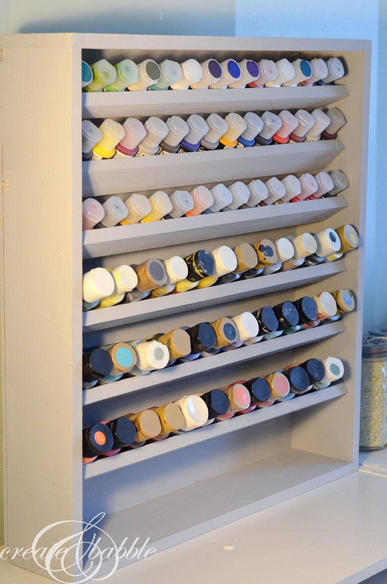 craft paint storage ideas sugar bee