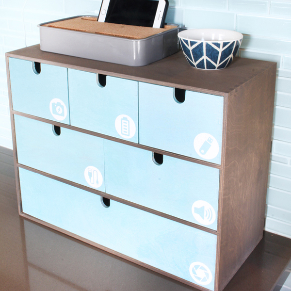 Blue i Style - Cord-Charger-Organization