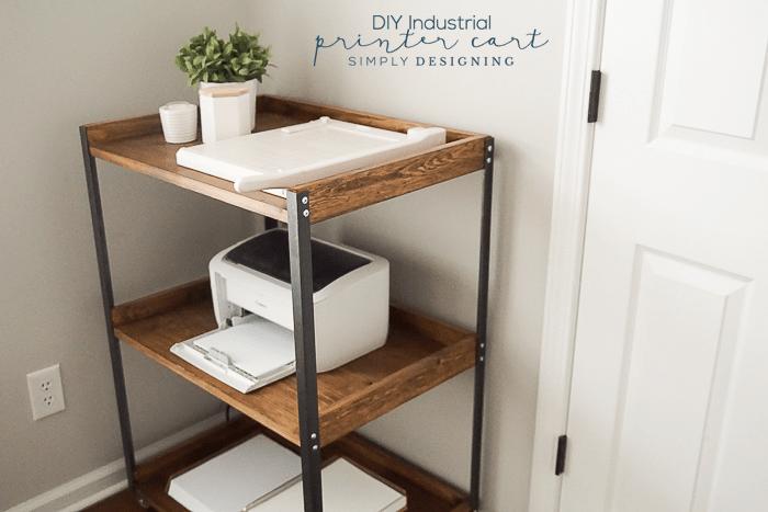 DIY-Industrial-Printer-Cart