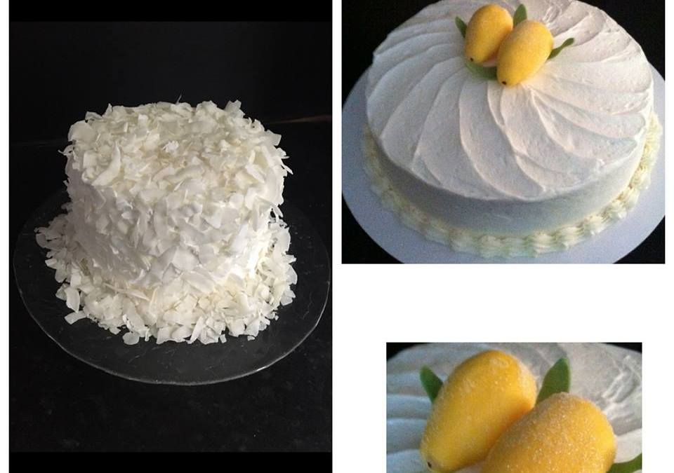 Lemon Snow Cake