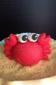 Sugarpaste Crab