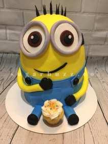 2 web cupcake minion w