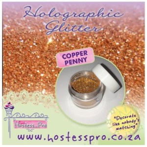 Glitters Holographic - Copper Penny