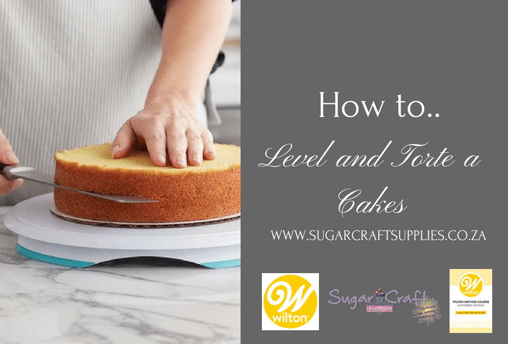 How to… Level and Torte a Cake