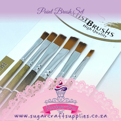 Paint Brush Set of 6
