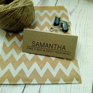 Craft Photo Booklet Place Card