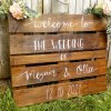 welcome to our wedding wooden sign
