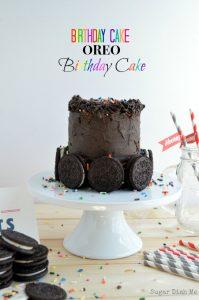 Birthday Cake Oreo Birthday Cake Sugar Dish Me