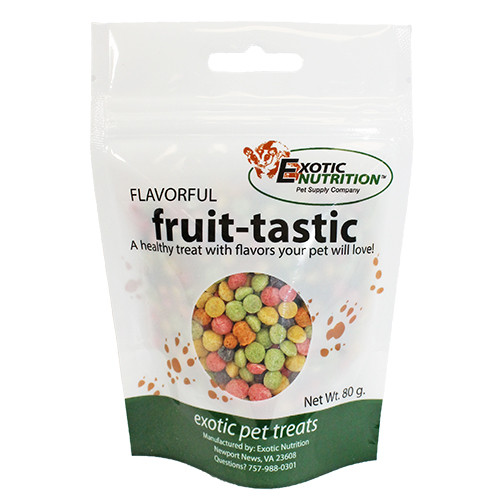 FRUIT TASTICS SNACK PARA PETAUROS DEL AZÚCAR