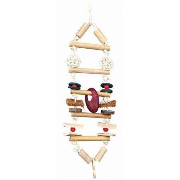 peunte escalera bambu decoracion de jaula para petauro del aucar sugr glider juguete toy cage accesories decorations (2)
