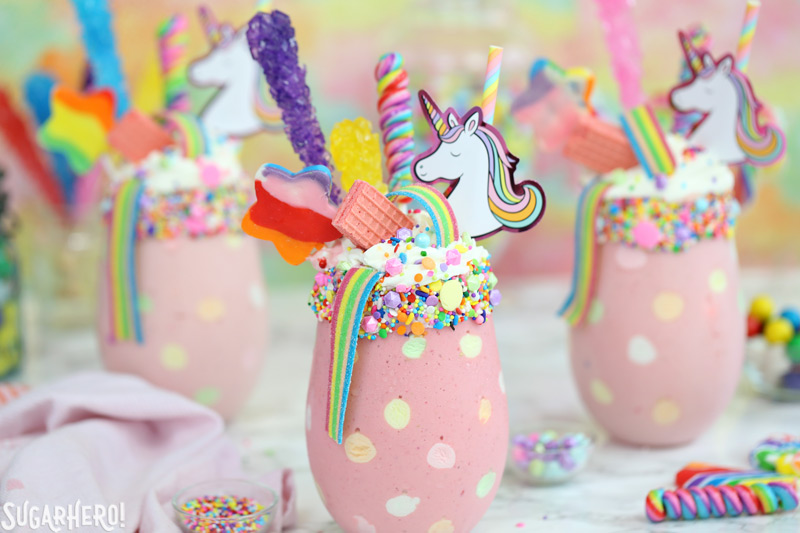 Unicorn Milkshakes SugarHero