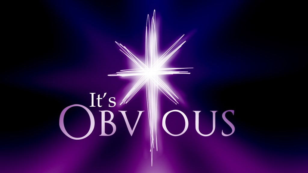 It's Obvious Week 1 Message Slides - Joseph.029
