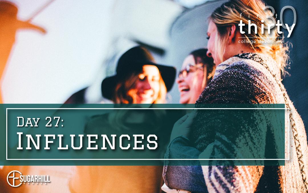Day 27 – Influences