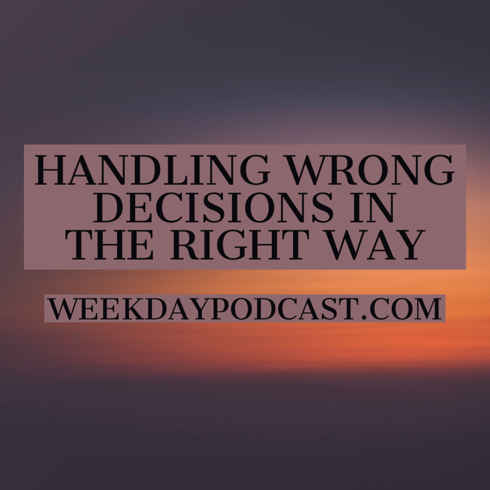 Handling Wrong Decisions in the Right Way Image