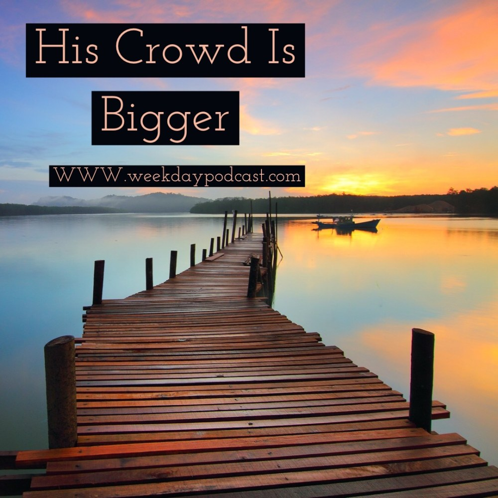 His Crowd is Bigger