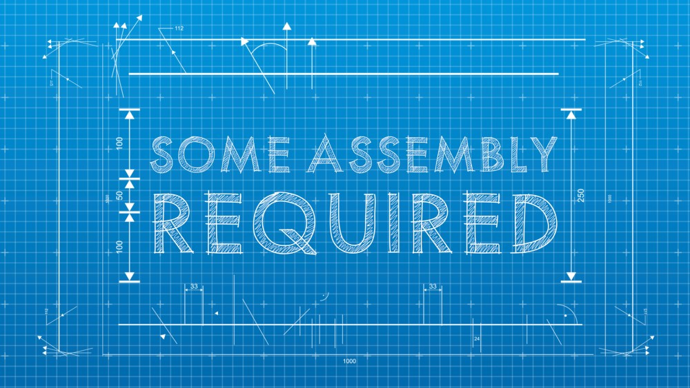 Some Assembly Required: Week 3
