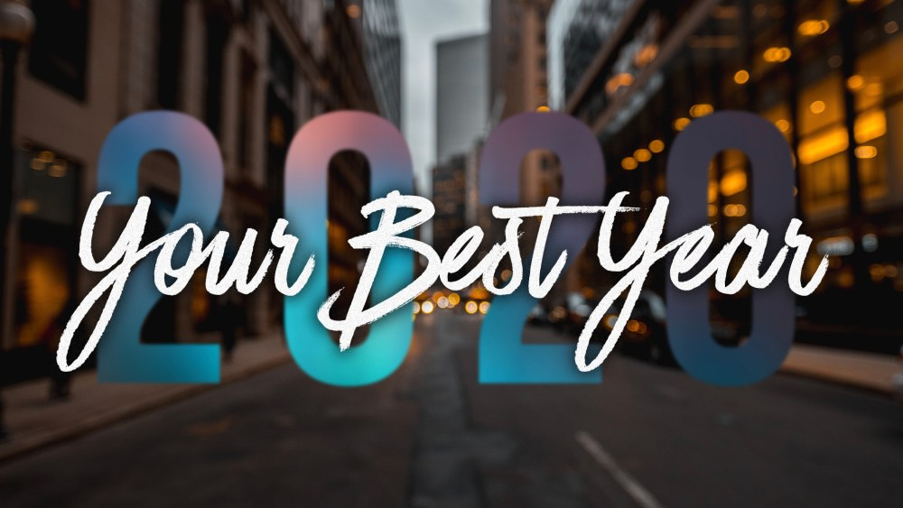 Your Best Year: Week 3 Image