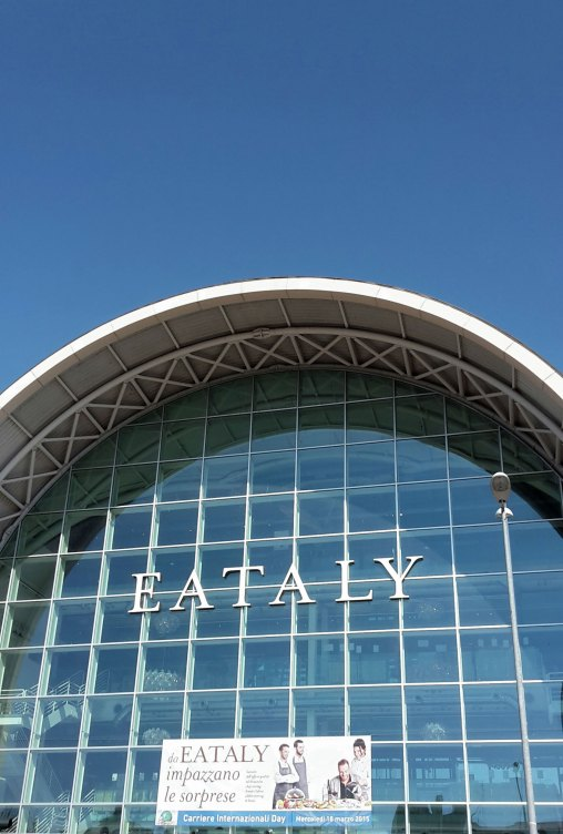 The entrance of Eataly