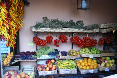 Fruit and vegetables store