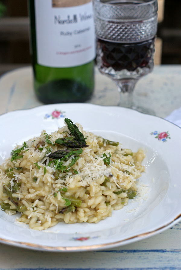 grilled-asparagus-risotto