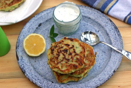 zucchine fritters