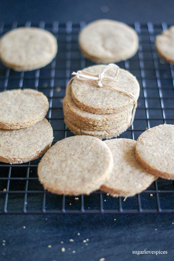 Chickpea, Coconut Cookies