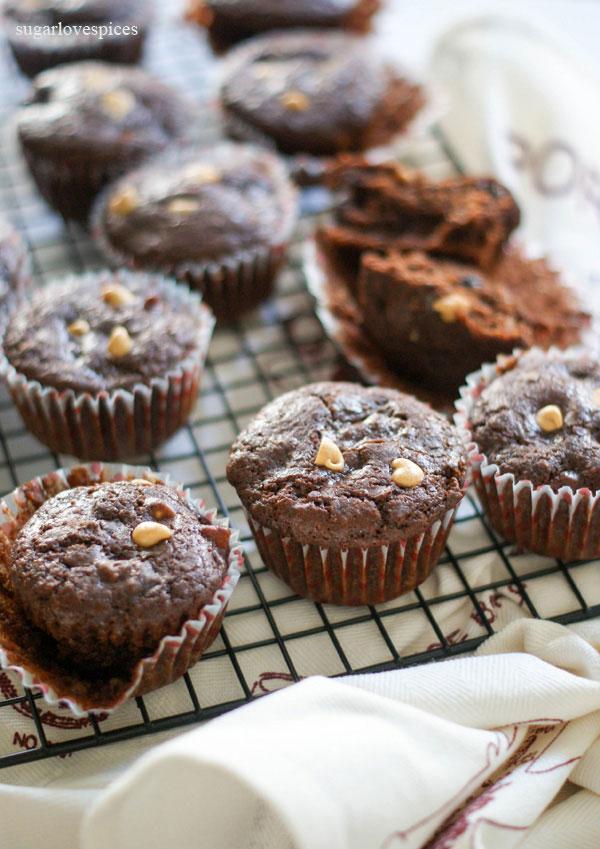 Muffins Pere e Cioccolato