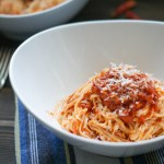 Homemade Spaghetti al Sugo