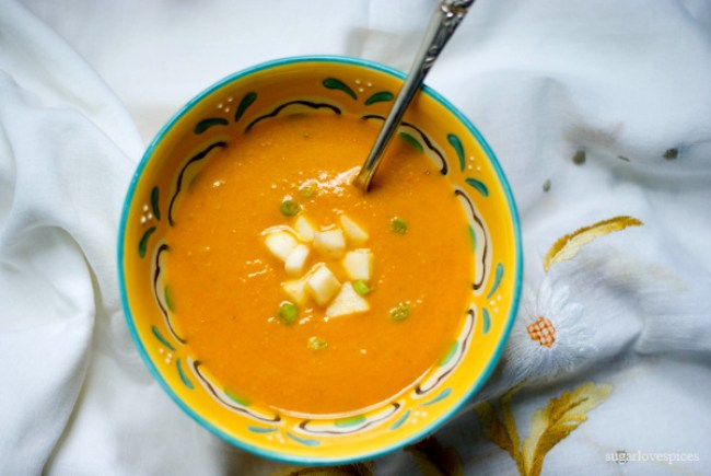 Carrot Miso Soup