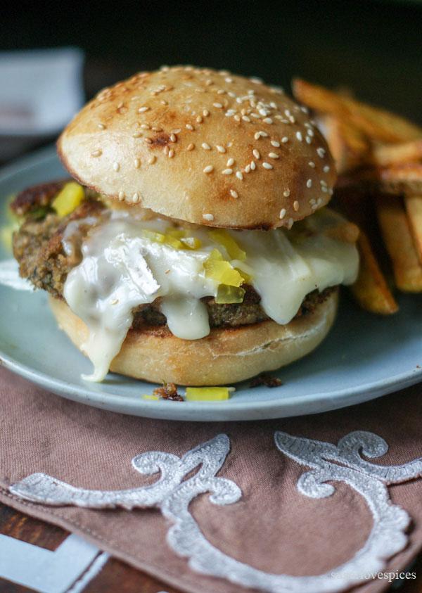 Curried-lentil-cashew-burger