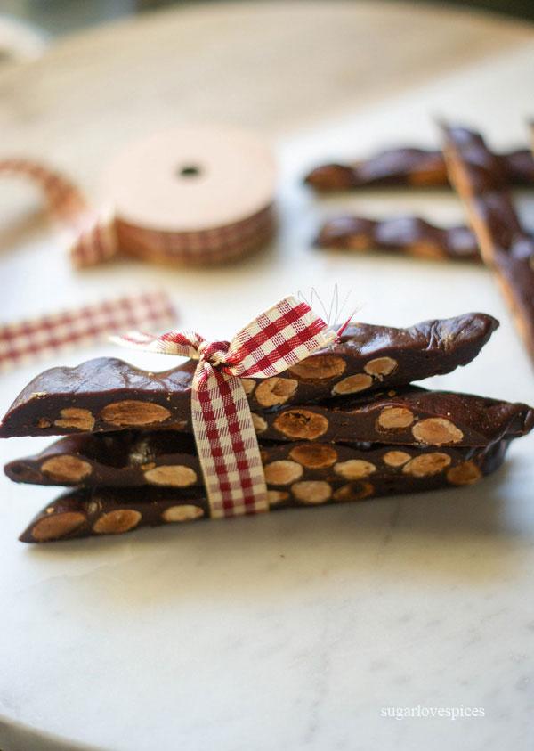 For my Valentines Chocolate Almond Chews