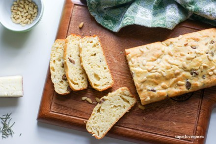 Herb and Olive Ricotta Loaf