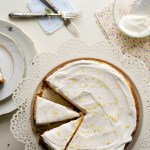 Lemon Ricotta Cheesecake and Happy First Year Blogging