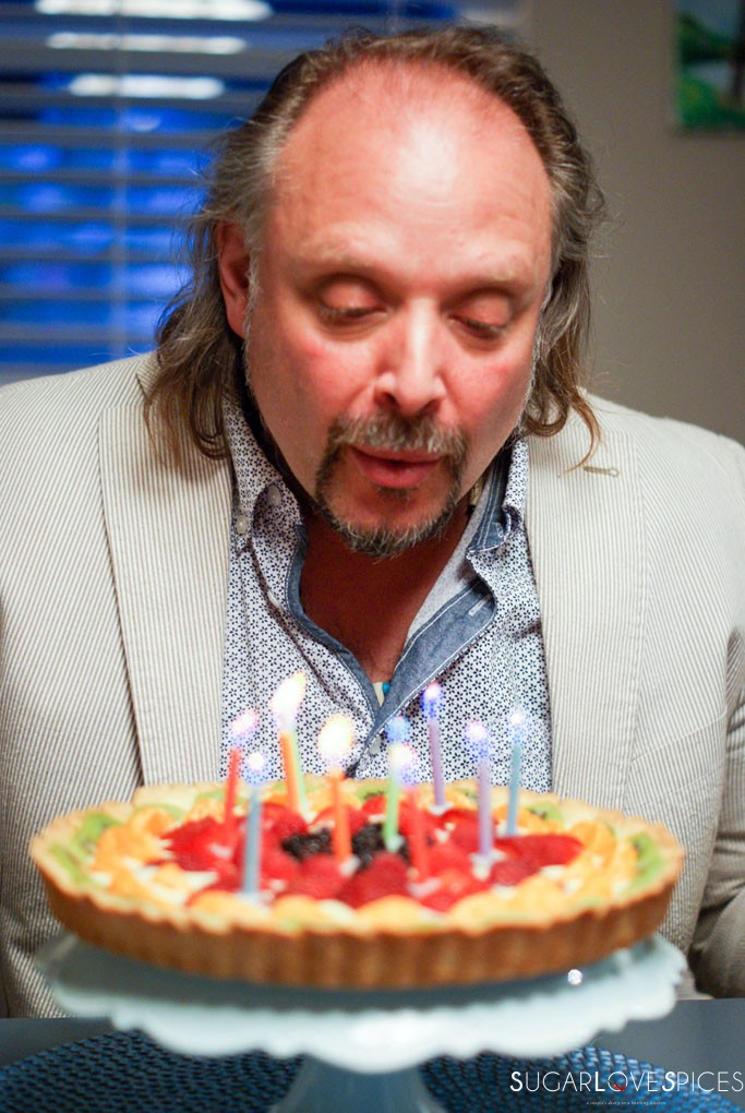 The most important birthday and a cake