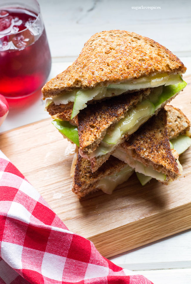 Green Apple Gouda Grilled Cheese