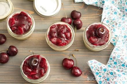 No bake Mini Cherry Cheese Cake