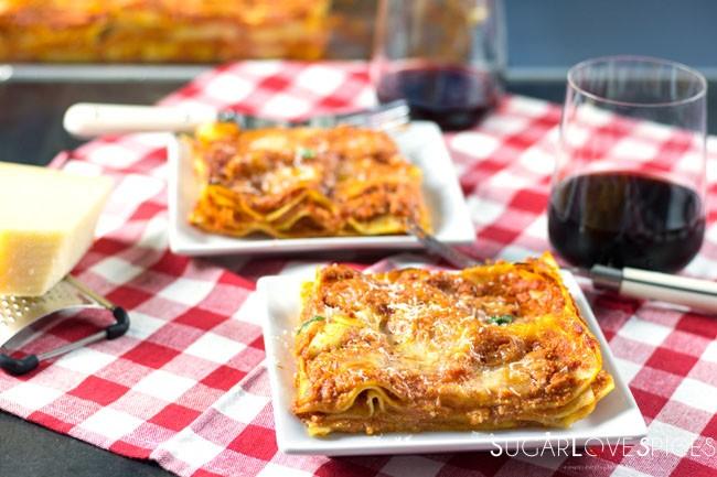 Mamma's Famous Roman Lasagna