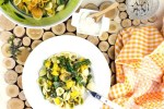 Orecchiette with rapini and Roasted Squash